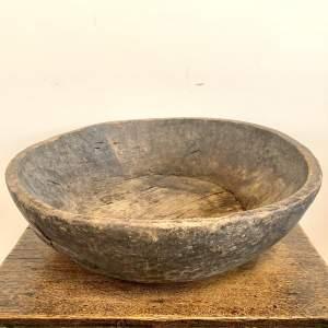 Genuine Ethnic Tribal Carved Wooden Bowl