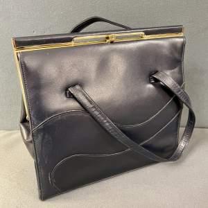 Alligator England Leather Handbag