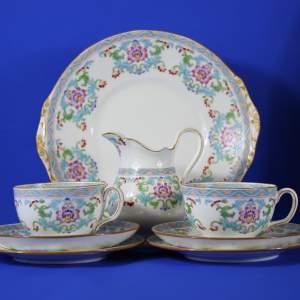 Antique Minton Spring Bouquet Circa 1910 - Tea For Two