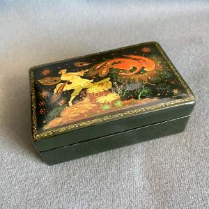 Russian Palekh Painted Box