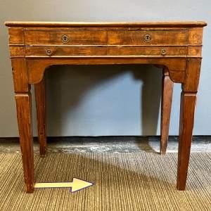 19th Century Walnut Writing Table