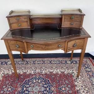 Edwardian Writing Mahogany Desk