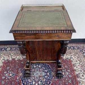 Regency Rosewood Davenport Desk