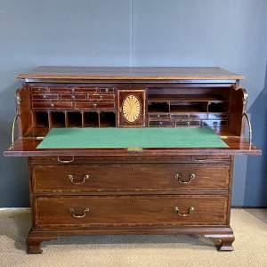 18th Century Mahogany Secretaire Chest of Drawers