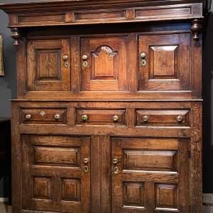 Early 18th Century Oak Cupboard