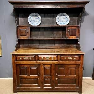 Early 18th Century Welsh Oak Dresser