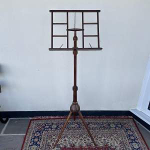Late Victorian Music Stand