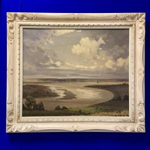 Clive Browne Oil on Canvas Riverscape
