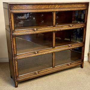 Early 20th Century Oak Stacking Bookcase