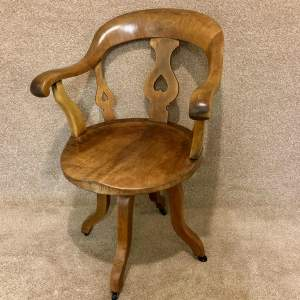 Mid 19th Century Office Chair