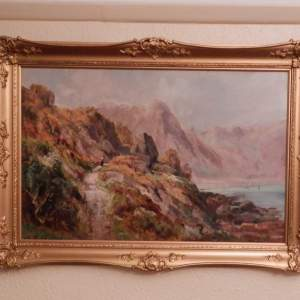 Oil Painting on Board by Henry Hadfield Cubley