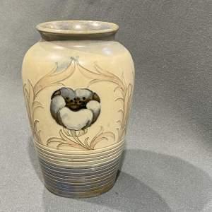 Early 20th Century William Moorcroft Salt Glazed Vase
