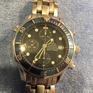 Omega Seamaster Professional Chronometer Blue Faced Watch