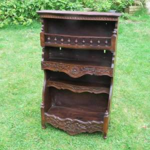 Early 20th Century European Black Forest type Hanging Wall Rack