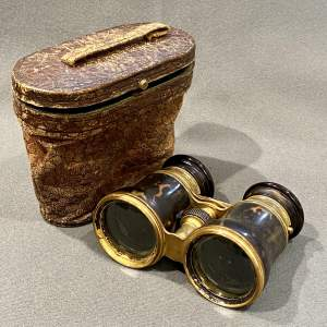 Pair of Circa 1900 French Multi Functional Binoculars