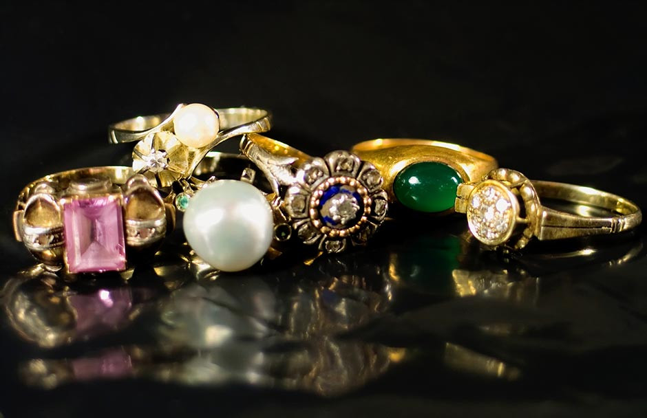 Antique rings