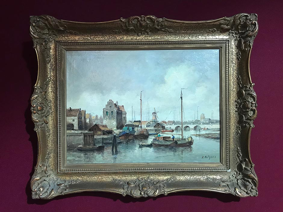 Where to find antique art for sale