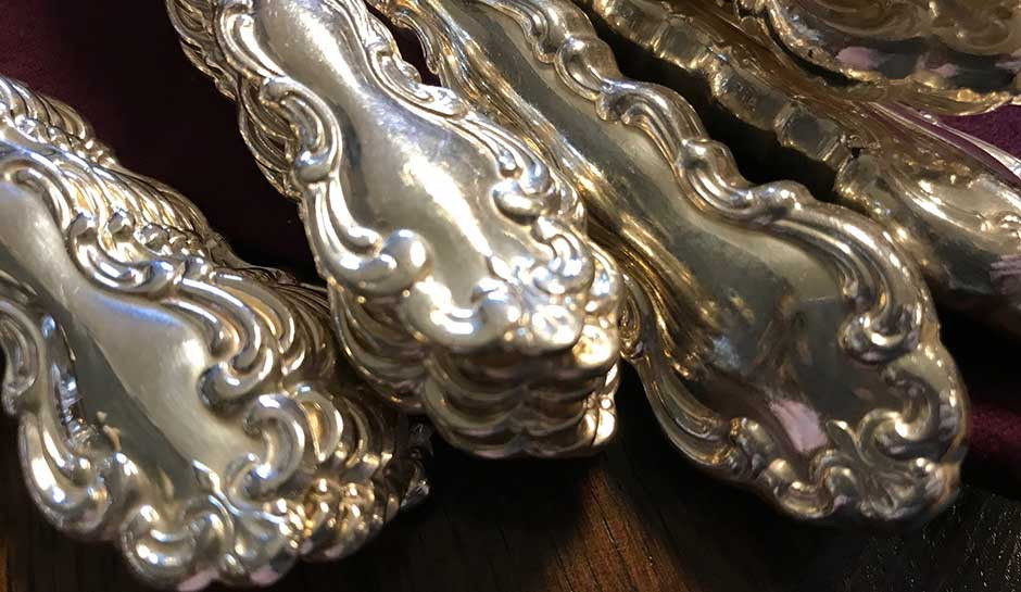 What is antique silver worth? How to identify antique silverware for sales