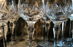 A collector's guide to antique drinking glasses
