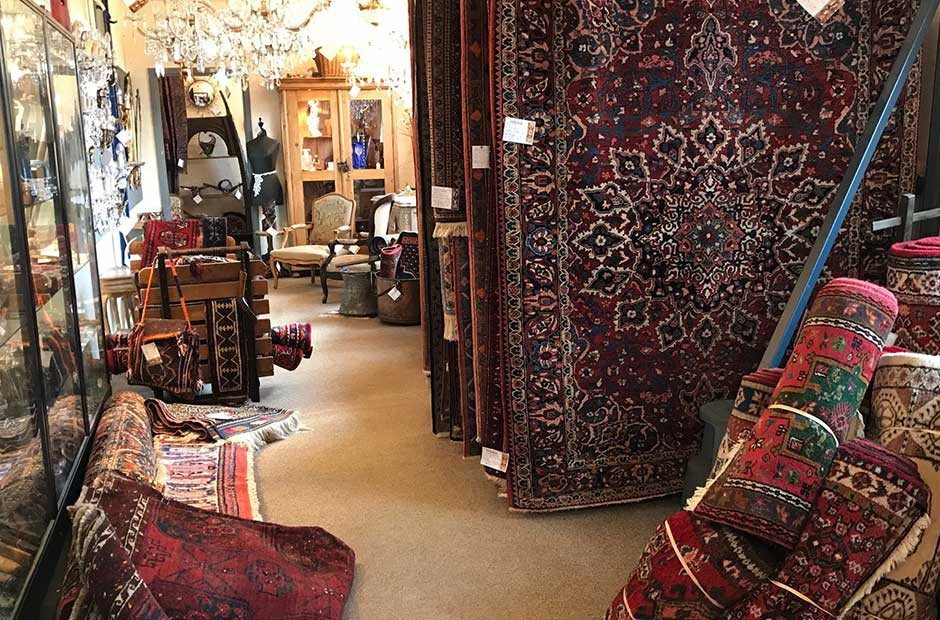 A guide to Antique rugs form Hemswell Antiques