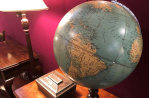 Antique maps and globes at Hemswell Antique Centres