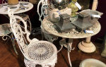 Garden antiques at Hemswell Antique Centres